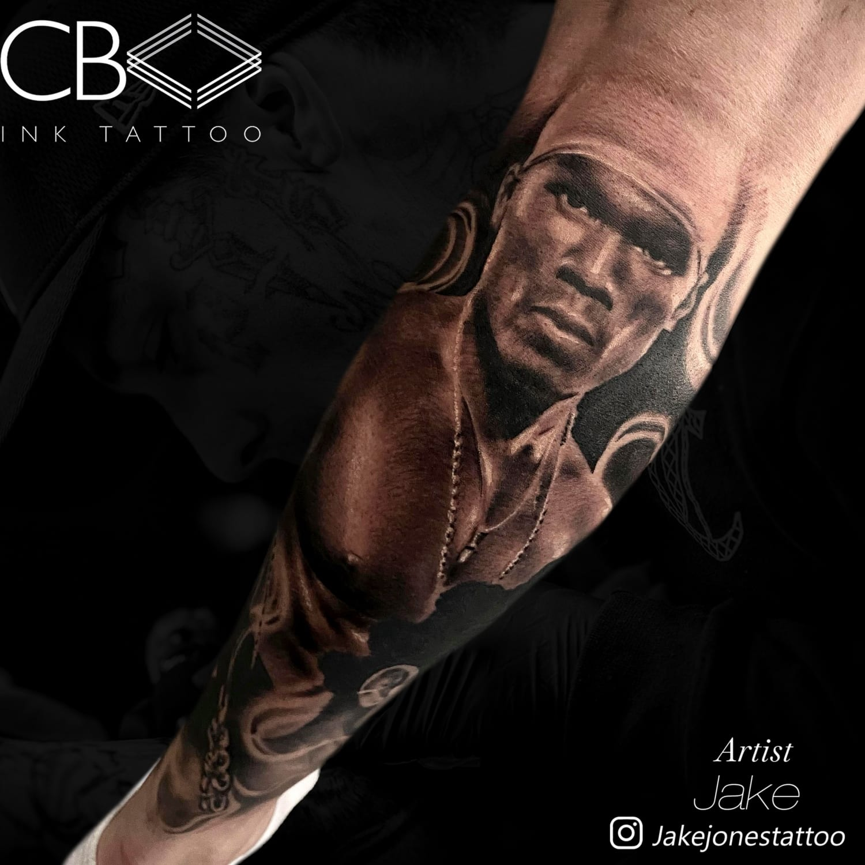 realism tattoo artist leg tattoo